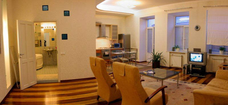 Spacious One-bedroom Apartment, Nevsky Avenue, Saint-Petersburg