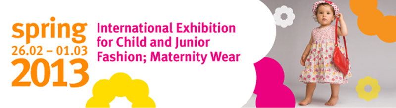 CJF'2013. Spring, the 10th International Exhibition for Child and Junior Fashion; Maternity Wear