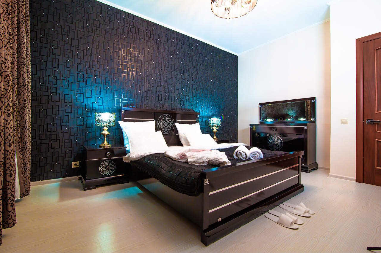 chambre coucher au design original russian rent. Black Bedroom Furniture Sets. Home Design Ideas